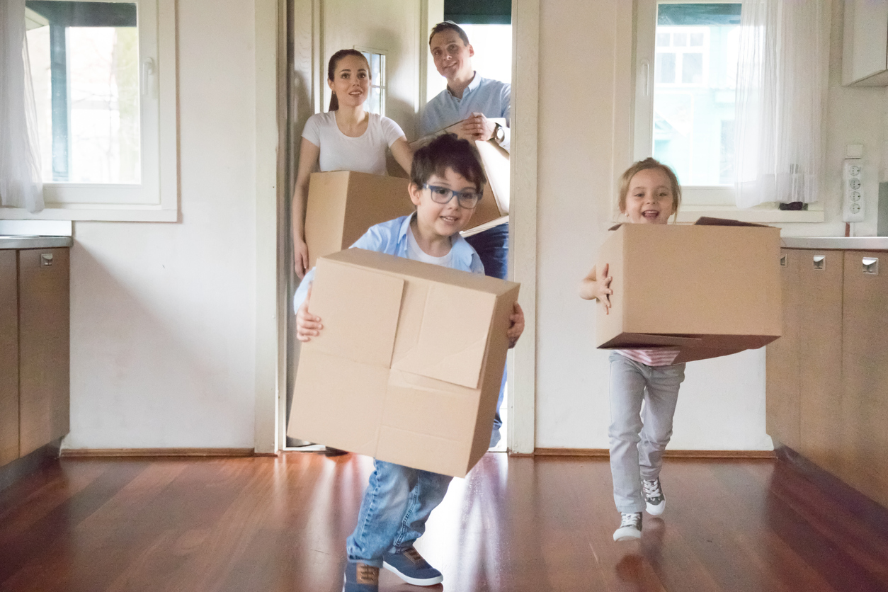 How to make moving house easier on little kids and teens