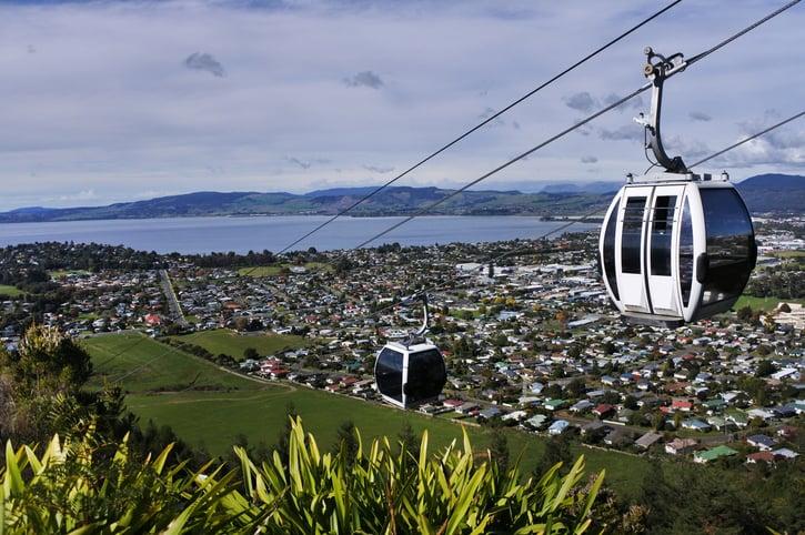 Rotorua town